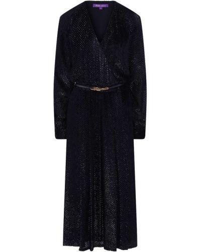 Платье из вискозы шелковое Ralph Lauren