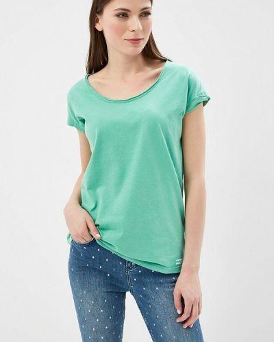 Зеленая футболка Billabong