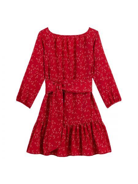 Летнее платье миди джинсовое La Redoute