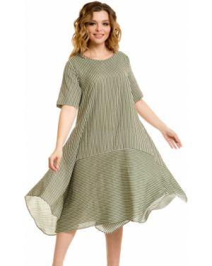 Летнее платье в полоску в стиле бохо Novita