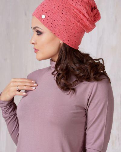 Розовая шапка Vay