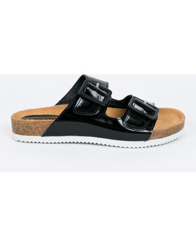 Черные сандалии Carinii