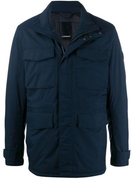Длинная куртка - синяя J.lindeberg
