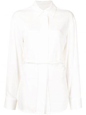 Рубашка с воротником - белая Christopher Esber