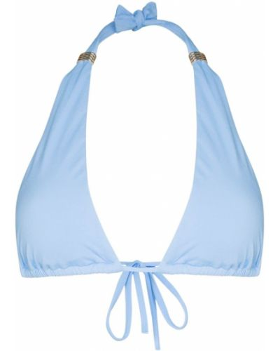 Синие бикини с вырезом металлические Melissa Odabash