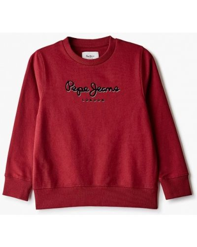 Красный свитшот Pepe Jeans