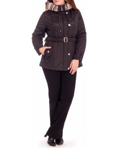 Куртка с поясом коричневая Lacywear