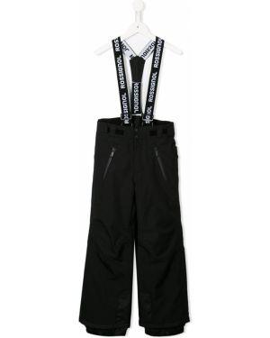 Черные брюки с карманами на кнопках Rossignol Kids
