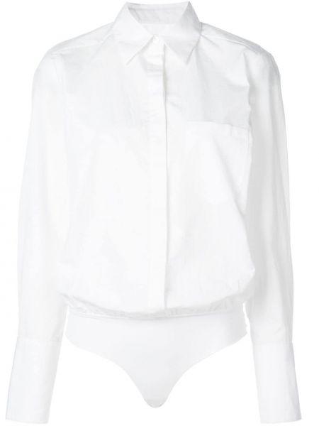 Длинная рубашка - белая Alix
