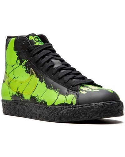 Нейлоновый черный пиджак на шнуровке Nike Kids