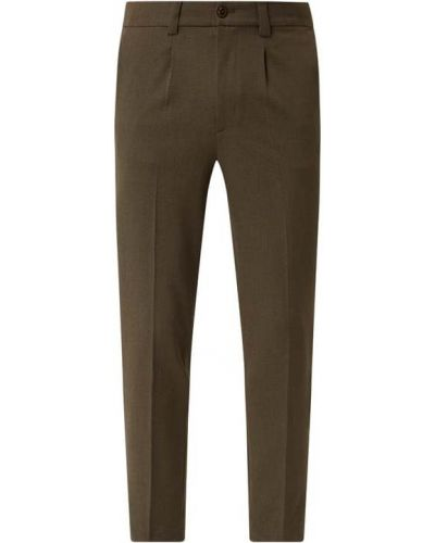Spodnie z wiskozy - zielone Mos Mosh