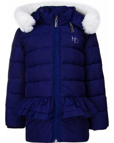 Куртка из искусственного меха - синяя Silvian Heach Kids