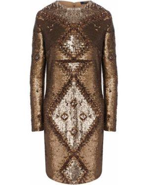 Платье с пайетками платье-поло Polo Ralph Lauren