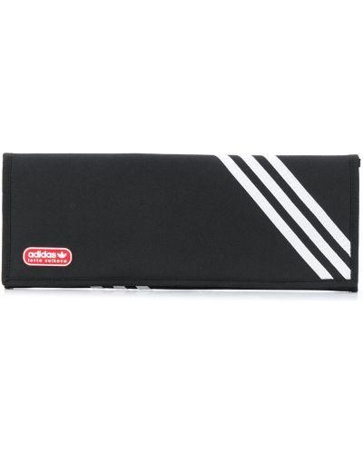 Черный клатч на молнии прозрачный Adidas X Lotta Volkova