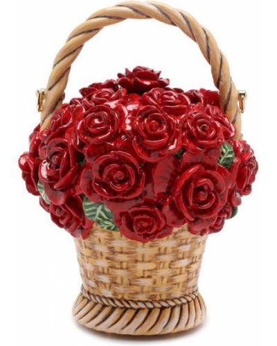 Красная сумка вечерняя Dolce & Gabbana