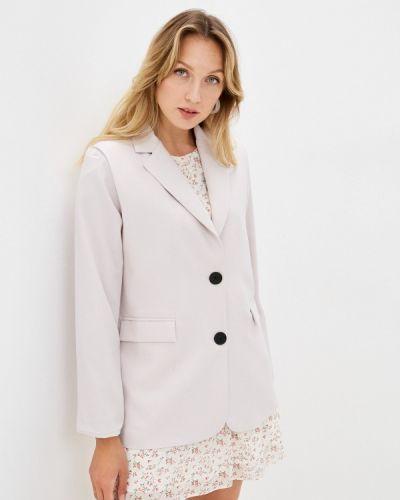 Бежевый пиджак Miss Gabby