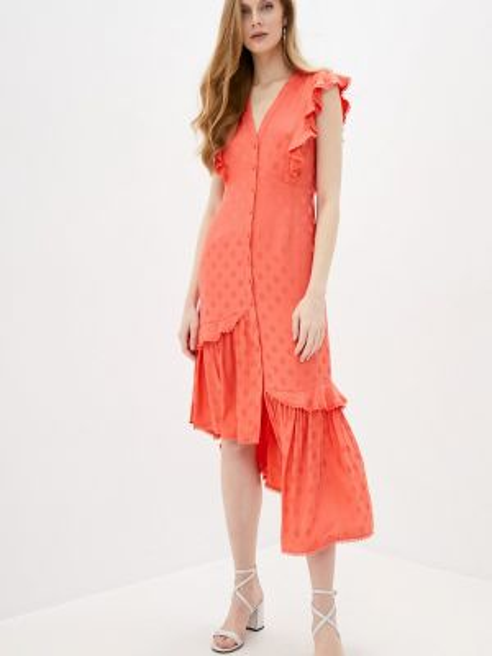 Платье - красное Three Floor