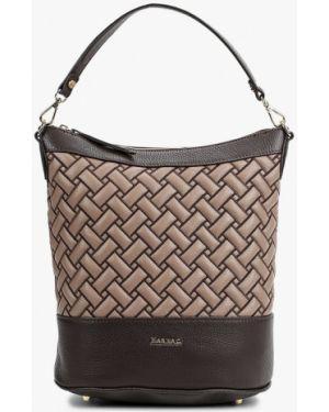 Кожаная сумка через плечо коричневый Marina Creazioni