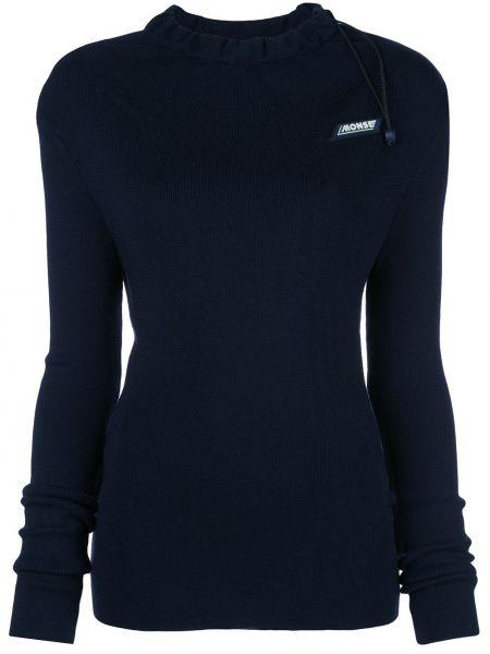 Шерстяной свитер - синий Monse