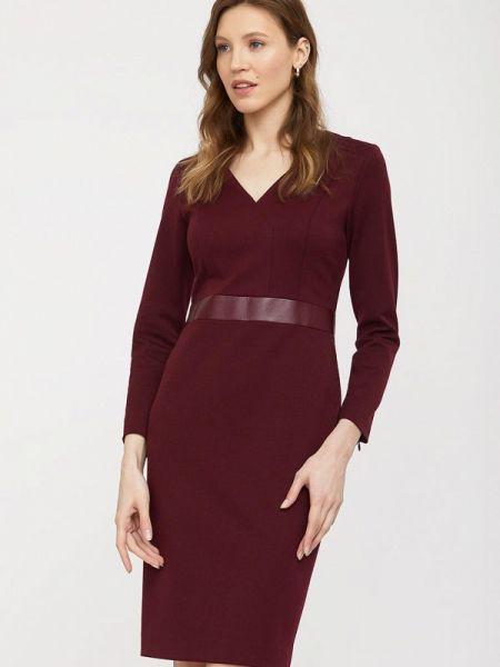 Бордовое платье Charuel