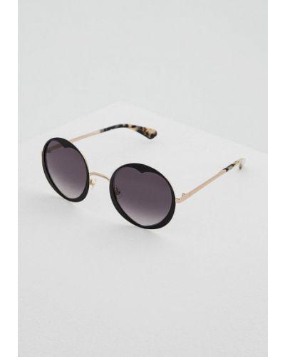 Солнцезащитные очки круглые Kate Spade