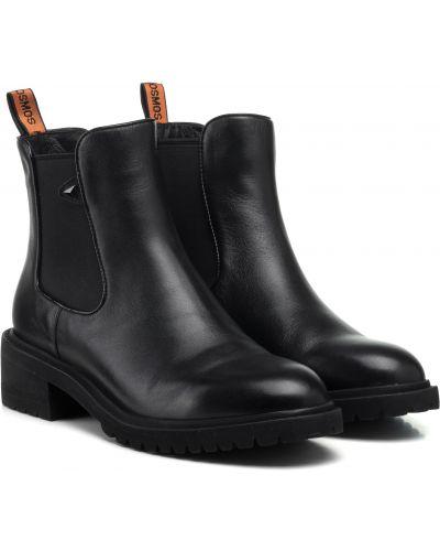 Ботинки - черные Anemone