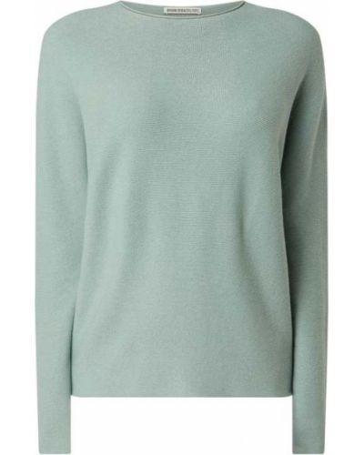 Zielony z kaszmiru sweter Drykorn