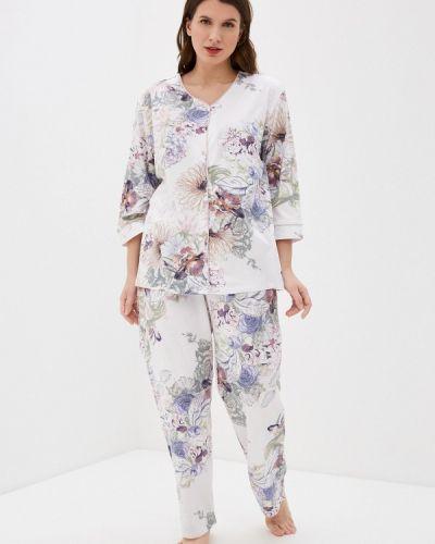 Пижамная домашняя белая пижама Hays