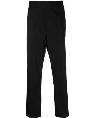 Czarne spodnie bawełniane Acne Studios