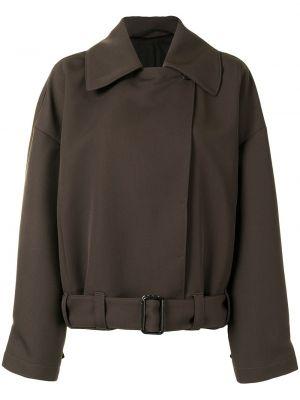 Куртка оверсайз - коричневая Lemaire
