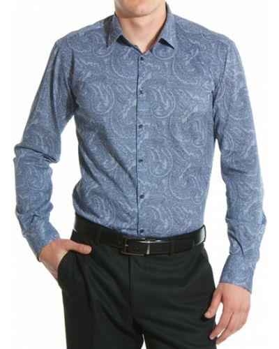 Голубая рубашка Lagerfeld