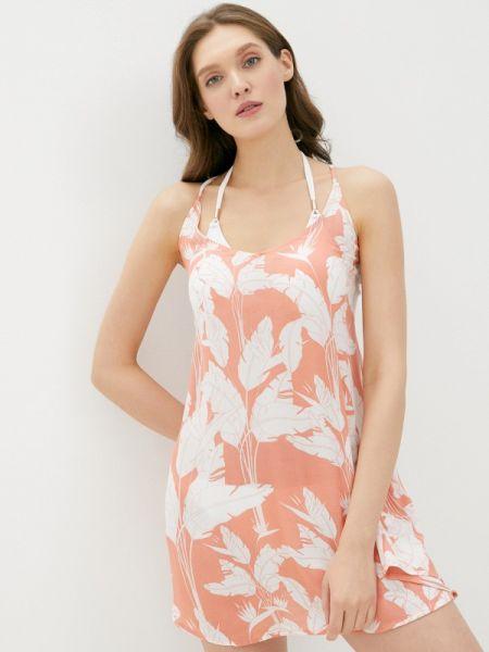 Пляжное красное платье Roxy