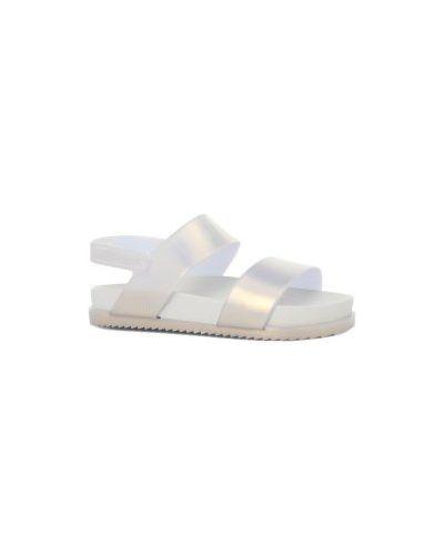 Сандалии белые Mini Melissa