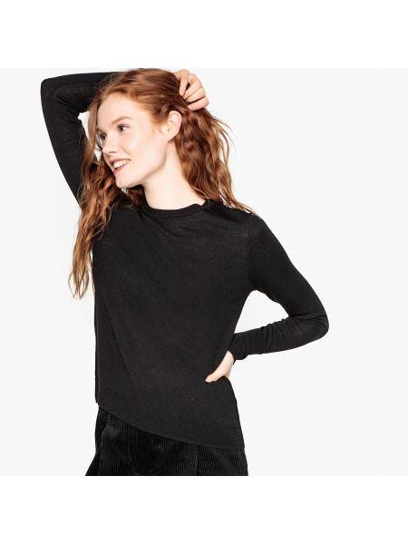 Пуловер шерстяной тонкий La Redoute Collections