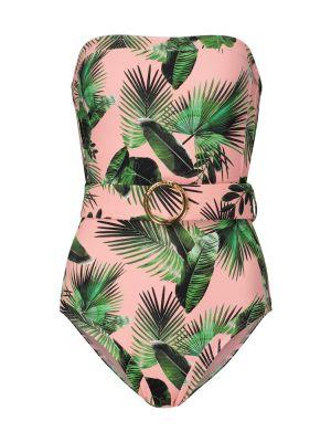 Różowy strój kąpielowy z printem Alexandra Miro