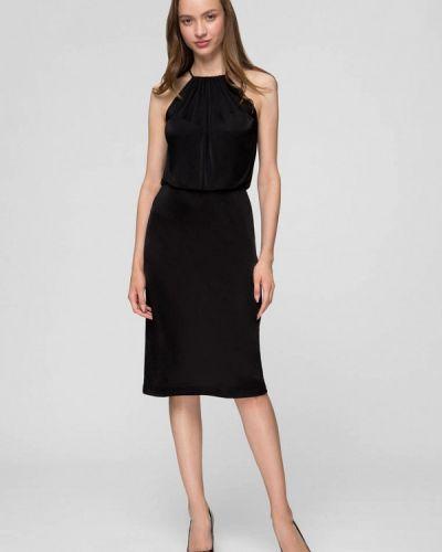 Черное вечернее платье Minimally