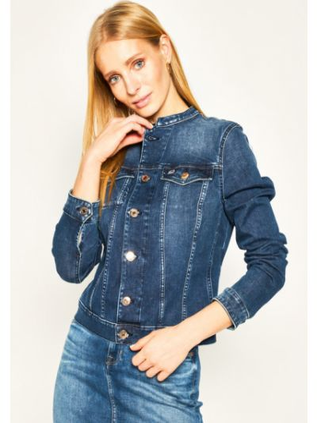 Kurtka jeansowa - granatowa Tommy Jeans