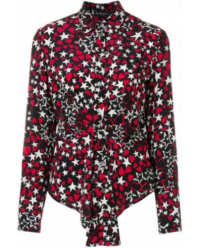 Рубашка с длинным рукавом классическая на пуговицах Rossella Jardini