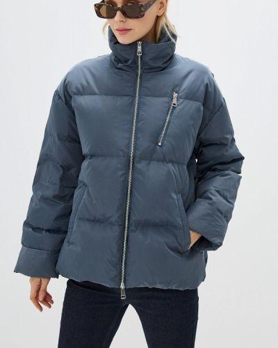 Зимняя куртка осенняя синий Neohit