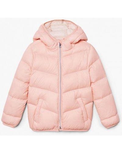Розовая куртка Mango Kids