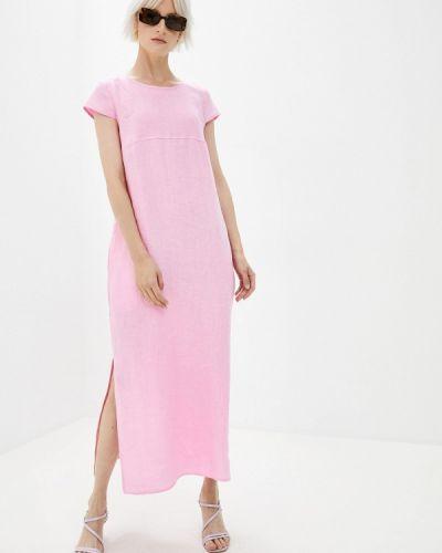 Прямое розовое платье Gabriela