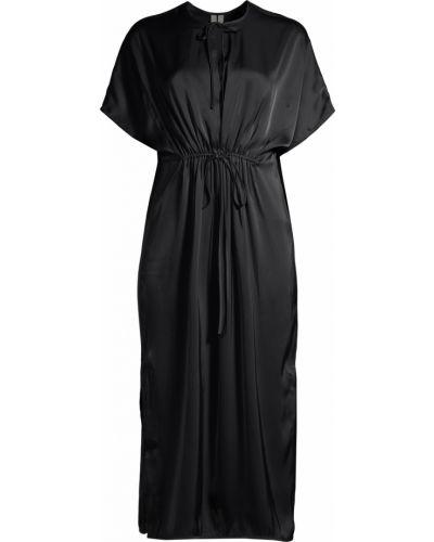 Шелковое платье - синее Arket