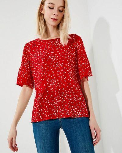 Красная блузка French Connection