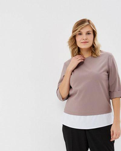 Блузка с коротким рукавом бежевый Grafinia