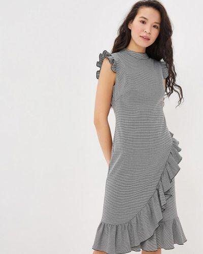 Платье серое осеннее Annborg