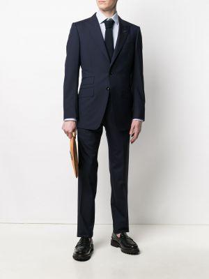 Шелковый костюм - синий Tom Ford