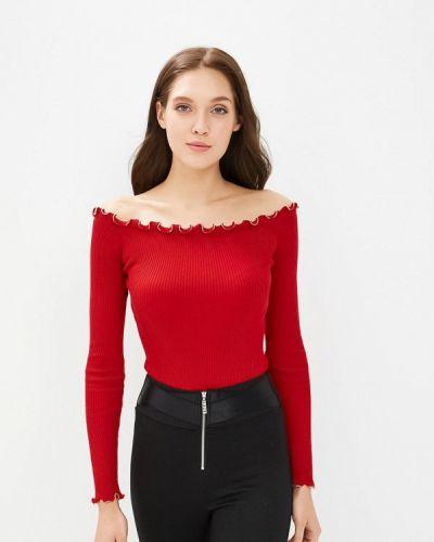 Боди блуза красный Zeza