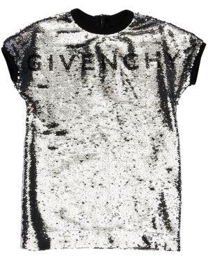 Платье с пайетками Givenchy