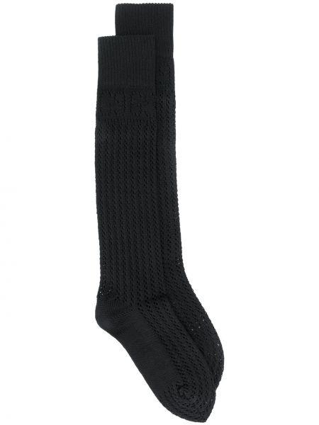 Bawełna trykotowy bawełna czarny skarpety Gucci