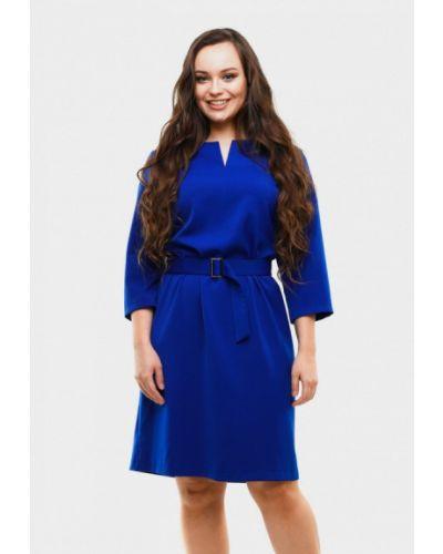 Платье миди - синее Magwear